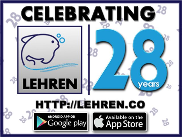 CELEBRATING 28 YEARS OF 'LEHREN'