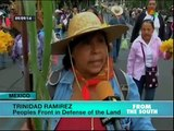 Mexican peasant farmers protest plans for new airport