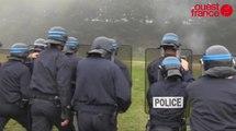 Les policiers d'Ille-et-Vilaine s'entrainent à la guérilla urbaine