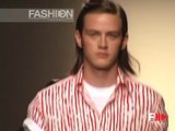 """Moschino"" Spring Summer 2005 2 of 2 Milan Menswear by Fashion Channel"