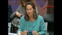 Transition énergétique : audition de Ségolène Royal - Assemblée nationale