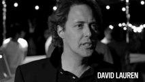 Rencontre avec David Lauren à Central Park après le défilé Polo Ralph Lauren printemps-été 2015
