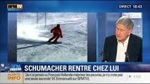 BFM Story: Michael Schumacher a quitté l'hôpital et sera pris en charge à son domicile - 09/09