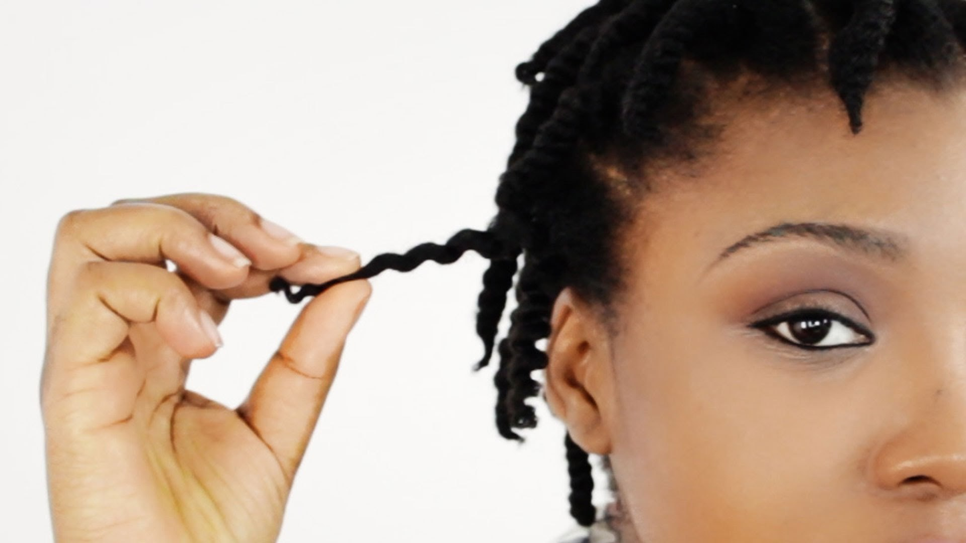 How To 2 Strand Twist Out On Short Natural Hair Tutorial Part 1 Of 4 Supplies Video Dailymotion