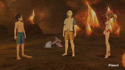 Tales of Xillia - PS3 - Tales of Summer (Swimwear costumes DLC trailer)