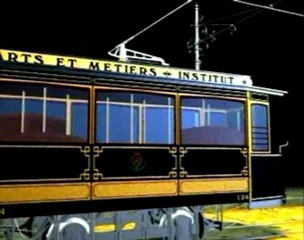 Tramway de la ligne Arts et métiers-Institut, 1906