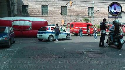 Protesta O.S.S. Napoli