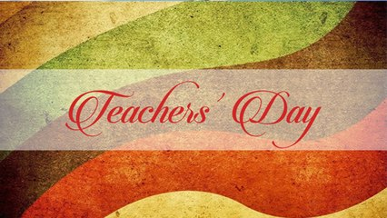 Teachers' Day - A Poem By Sreejoni Nag