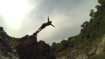 GoPro Slow Motion Rivière côte d'Azur - Chien dans l'eau GoPro