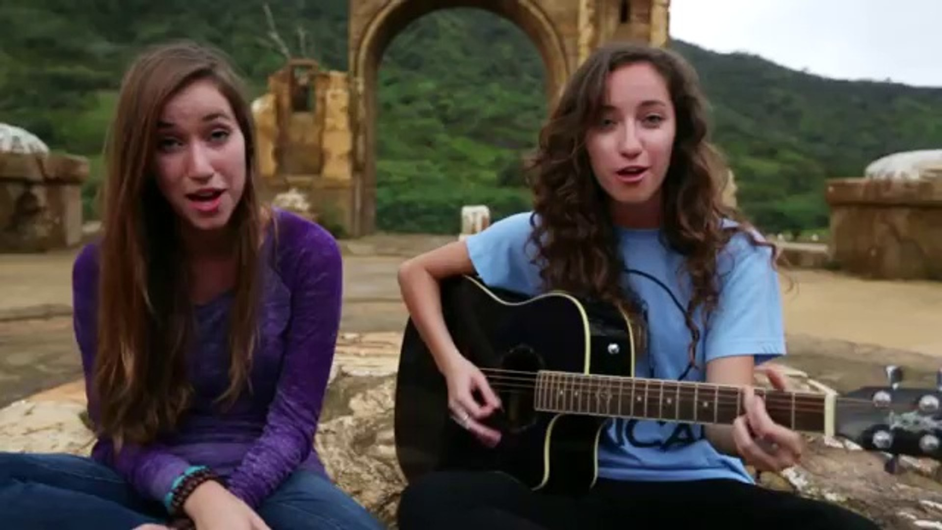 Pumped Up Kicks- Foster the People Cover by Gardiner Sisters