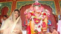 Priyanka Chopra Seeks Blessings @ Andhericha Raja Ganpati !