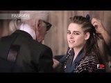 """CHANEL MÉTIERS D'ART"" model Kristen Stewart - ADV Campaign - Photographer Karl Lagerfeld"