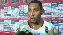 Mundobasket 2014 - Batum y Diaw celebran el pase de Francia