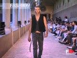 "Fashion Show ""Giuliano Fujiwara"" Spring Summer 2008 Men Milan 3 of 3 by Fashion Channel"