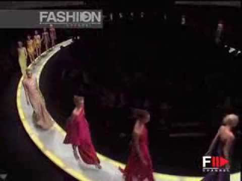 "Fashion Show ""Versace"" Autumn Winter 2008 2009 Milan 2 of 2 by Fashion Channel"