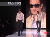 """Fashion Show """"Giorgio Armani"""" Spring Summer 2006 Menswear Milan 1 of 2 by Fashion Channel"""