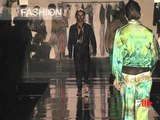 "Fashion Show ""Roberto Cavalli"" Pret a Porter Men Spring Summer 2004 Milan 1 of 3"