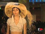 "Fashion Show ""Anna Osmushkina"" Pret a Porter Women Spring Summer 2003 Milan 2 of 5"