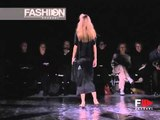 """Yojhi Yamamoto"" Spring Summer 2001 4 of 5 Paris Pret a Porter by Fashion Channel"