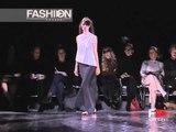 """Yojhi Yamamoto"" Spring Summer 2001 5 of 5 Paris Pret a Porter by Fashion Channel"