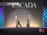 """Escada"" Autumn Winter 2000 2001 Milan 10 of 19 pret a porter woman by FashionChannel"