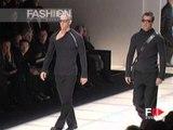 """""""Giorgio Armani"""" Autumn Winter 2000 2001 Milan 3 of 5 pret a porter men by FashionChannel"""