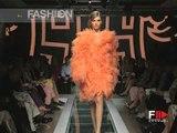 """""""Versace Atelier"""" Autumn Winter 2000 2001 Paris 3 of 4 Haute Couture woman by Fashion Channel"""