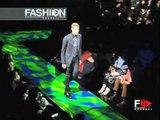 """Versace"" Fashion Show Autumn Winter 2000 2001 Milan 3 of 3 pret a porter men by Fashion Channel"