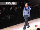 """""""Giorgio Armani"""" Autumn Winter 2000 2001 Milan 4 of 5 pret a porter men by FashionChannel"""