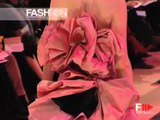 """Christian Lacroix"" Spring Summer 2005 Paris 4 of 6 Haute Couture by FashionChannel"