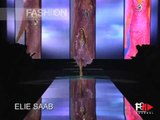 """Elie Saab"" Spring Summer 2005 Paris 2 of 4 Haute Couture by FashionChannel"