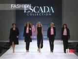 """""""Escada"""" Spring Summer 2000 Milan 1 of 14 Pret a Porter by FashionChannel"""