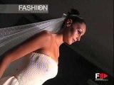 """Egon Von Furstenberg"" Galà Della Sposa 2001 Haute Couture Bridalwear by FashionChannel"