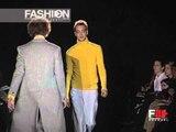 """""""Alessandro Dell'Acqua"""" Autumn Winter 1999 2000 Milan 2 of 3 pret a porter men by FashionChannel"""