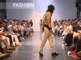"""""""Costume National"""" Spring Summer 2004 New York 1 of 2 Menswear by FashionChannel"""