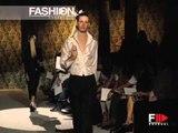 """""""Rocco Barocco"""" Spring Summer 2004 New York 3 of 3 Menswear by FashionChannel"""