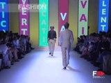"""Valentino"" Spring Summer 2004 New York 2 of 3 Menswear by FashionChannel"