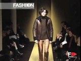 """""""Trussardi"""" Autumn Winter 2003 2004 Milan 2 of 2 Menswear by FashionChannel"""