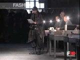 """Antonio Marras"" Autumn Winter 2003 2004 Milan 1 of 4 Menswear by FashionChannel"