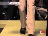 """""""Trussardi"""" Autumn Winter 2003 2004 Milan 1 of 2 Menswear by FashionChannel"""