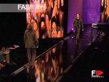 """Versace"" Autumn Winter 2003 2004 Milan 2 of 3 Menswear by Fashion Channel"