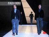 """""""Giorgio Armani - Emporio Armani"""" Autumn Winter 2003 2004 Milan 3 of 6 Men by FashionChannel.mov"""