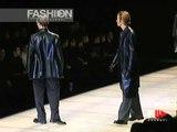 """""""Giorgio Armani"""" Autumn Winter 1998 1999 Milan 1 of 5 pret a porter men by FashionChannel"""