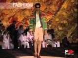 """Roberto Cavalli"" Spring Summer 2003 Milan Part 2 of 3 Menswear by FashionChannel"