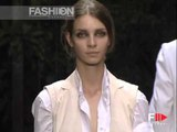 """Neil Barrett"" Spring Summer 2003 Milan Part 2 of 3 Menswear by FashionChannel"