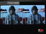 """Missoni"" Spring Summer 2003 Milan Part 1 of 2 Menswear by FashionChannel"
