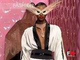 """Balmain"" Spring Summer 2003 Paris Part 3 of 4 Haute Couture by FashionChannel"