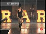 """Antonio Berardi"" Spring Summer 1998 Paris 4 of 5 pret a porter woman by FashionChannel"