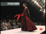 """""""Furstenberg Couture"""" Autumn Winter 1997 1998 Rome 6 of 9 Haute Couture woman by FashionChannel"""