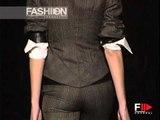 """Alessandro De Benedetti"" Autumn Winter 2002 2003 Milan 1 of 3 by FashionChannel"